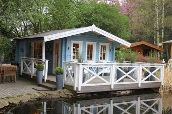 21) Heute wird angestrichen – mein Gaidt Gartenhaus bekommt Farbe